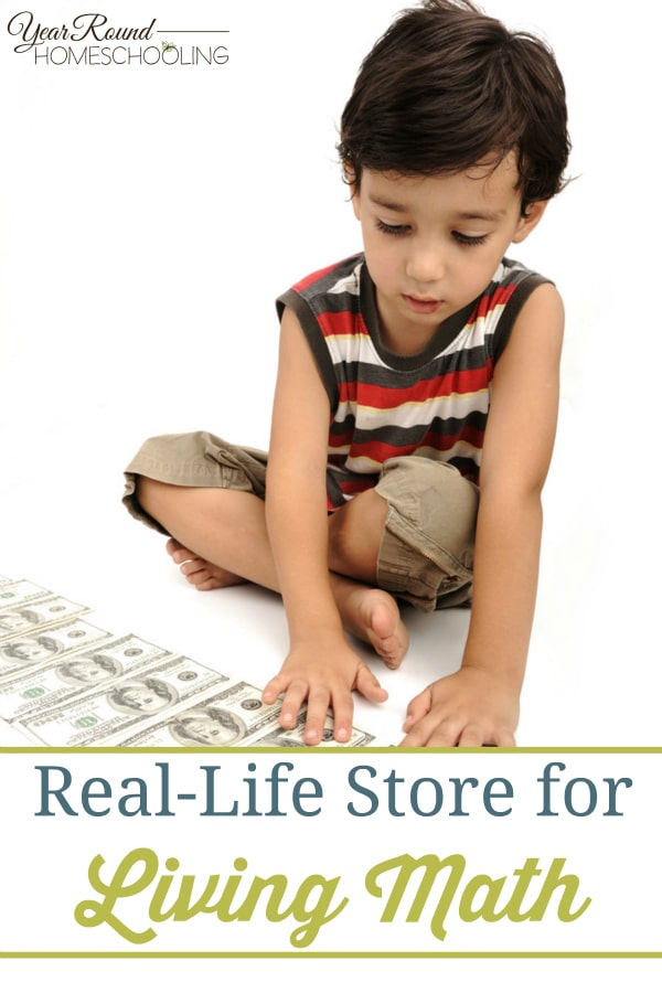 math, store, money, shop, living math, homeschool, homeschooling