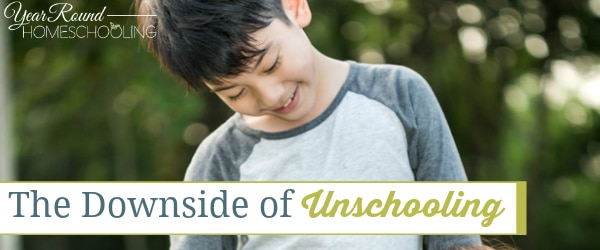 The Downside of Unschooling