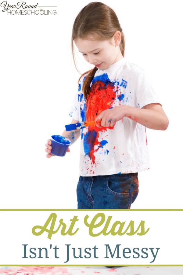 art, messy, homeschool, homeschooling