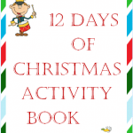 Free 12 Days of Christmas Activity Book