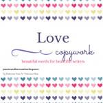 Free Valentine's Day Copywork - By Jennifer Harrison
