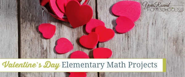 Valentine's Day Elementary Math Projects
