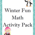 FREE Winter Time Math Activity Pack