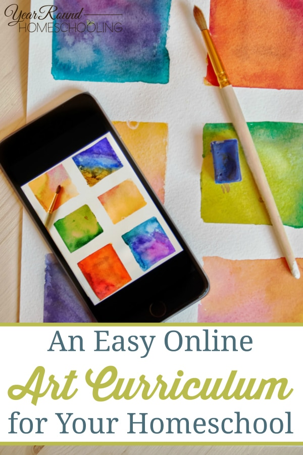 art, homeschool art curriculum, art curriculum, online homeschool curriculum, homeschool, homeschooling