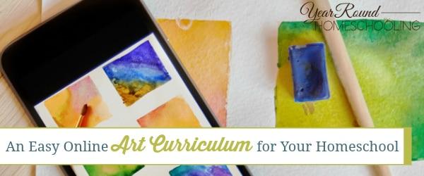 art, homeschool art curriculum, art curriculum, online homeschool curriculum, homeschool, homeschooling