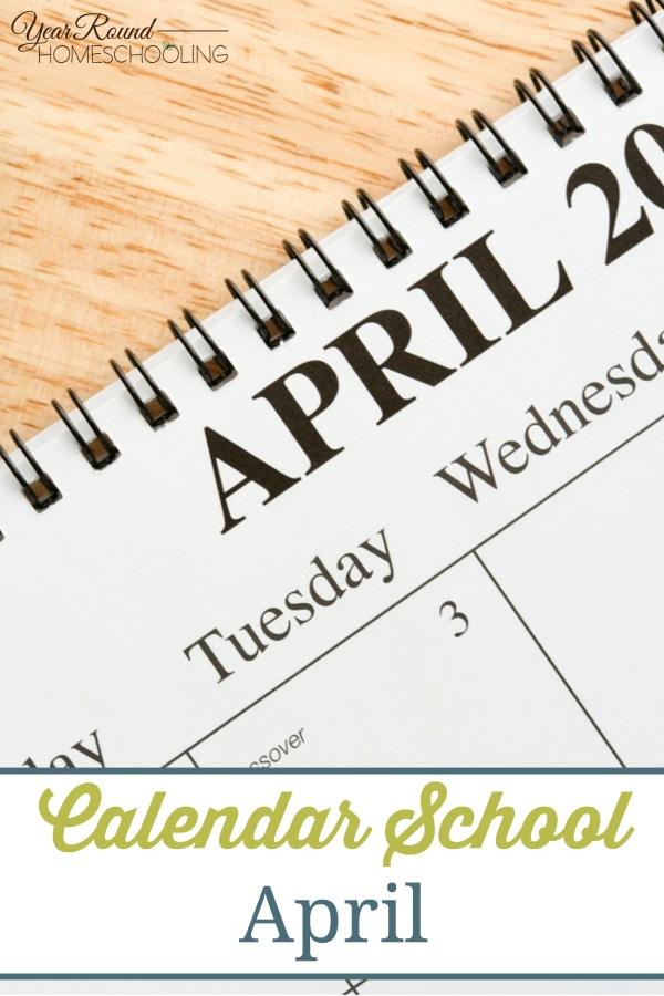 april, holidays. homeschool, homeschooling