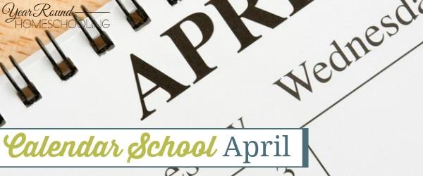 Calendar School – April