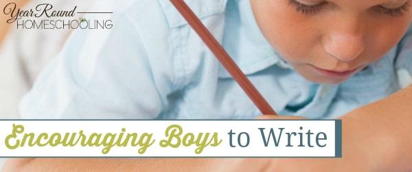 Encouraging Boys to Write