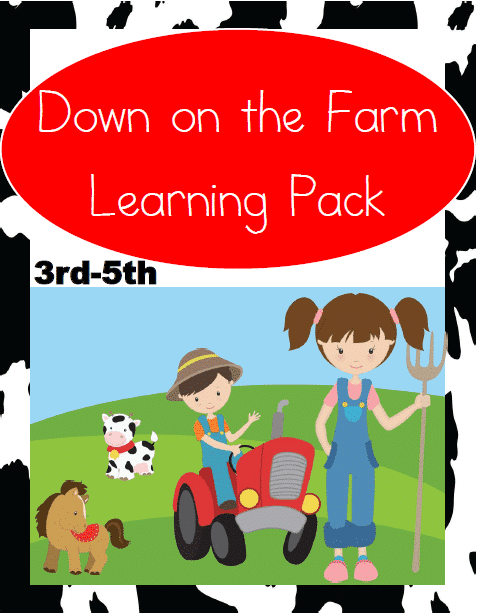 Down on the Farm Learning Pack (3rd-5th)