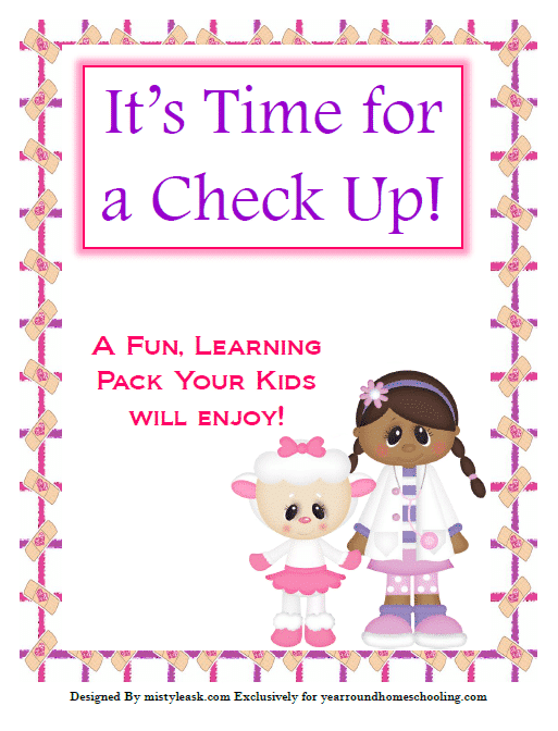 Doctor's Visit Pretend Play Packet