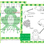 Free Pre-K Frog Activity Pack