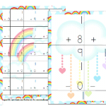 Free Rainbow Math Pack (K-2)