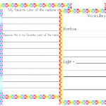 Free Rainbow Unit Study and Printables (Middle School)