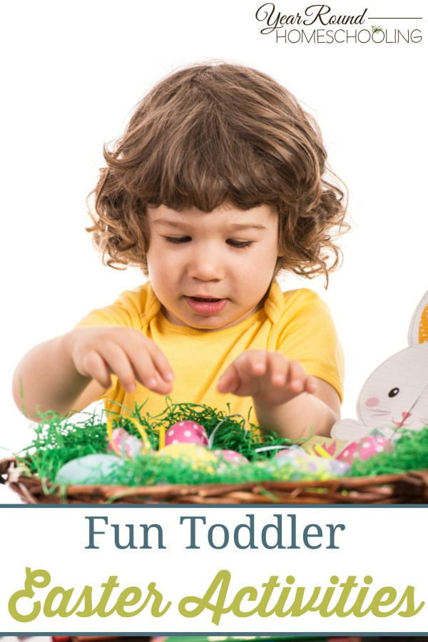 toddler, Easter, preschool, prek, homeschool, homeschooling