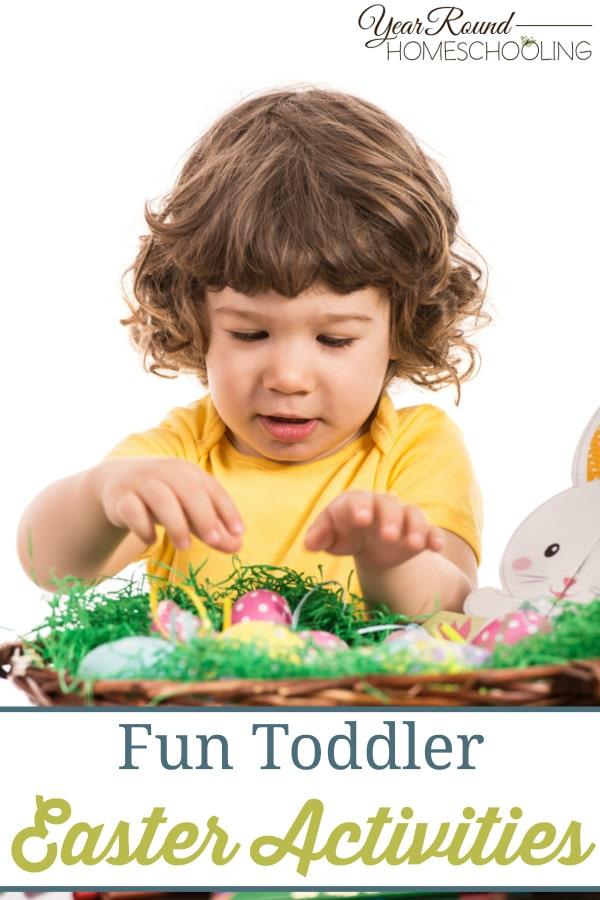 toddler, Easter, preschool, prek, homeschool, homeschooling
