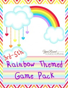 Free Rainbow Game Pack (3rd-5th)
