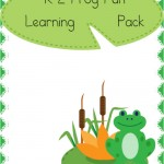 Free Frog Learning Pack (K-2)