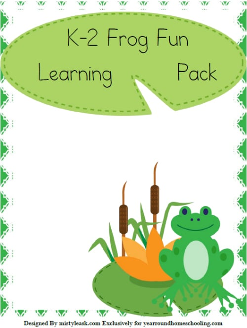 Frog Learning Pack (K-2)