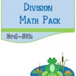 Free Frog Multiplication and Division Math Pack (3rd-5th)
