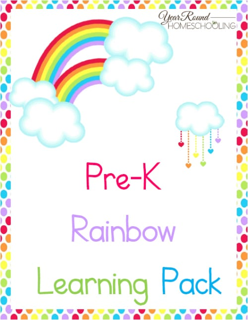PreK Rainbow Learning Pack