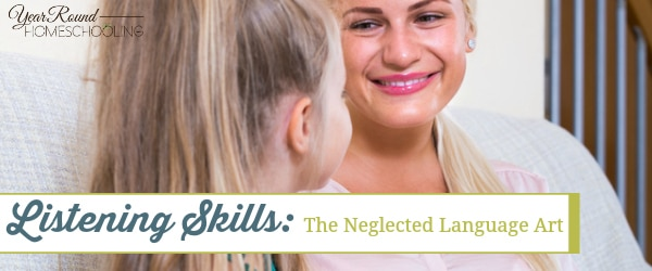 listening, language arts. homeschool, homeschooling