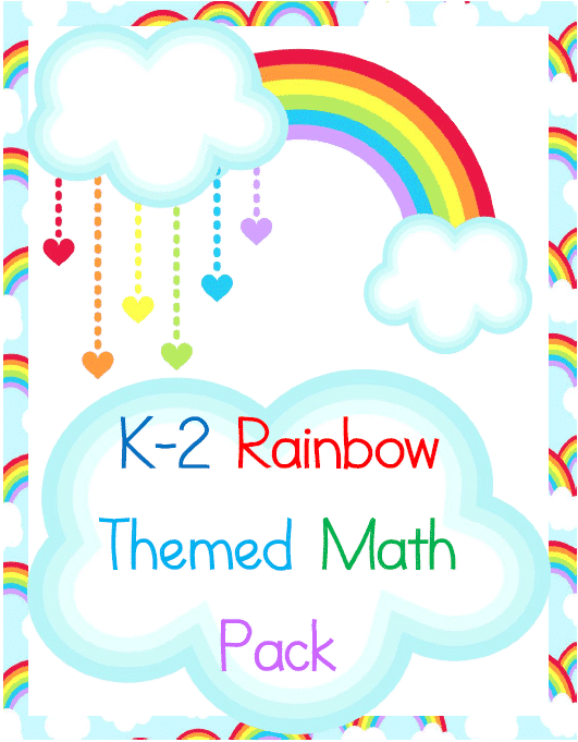 Rainbow K-2 Math Pack