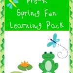 Free Spring Pre-K Learning Pack