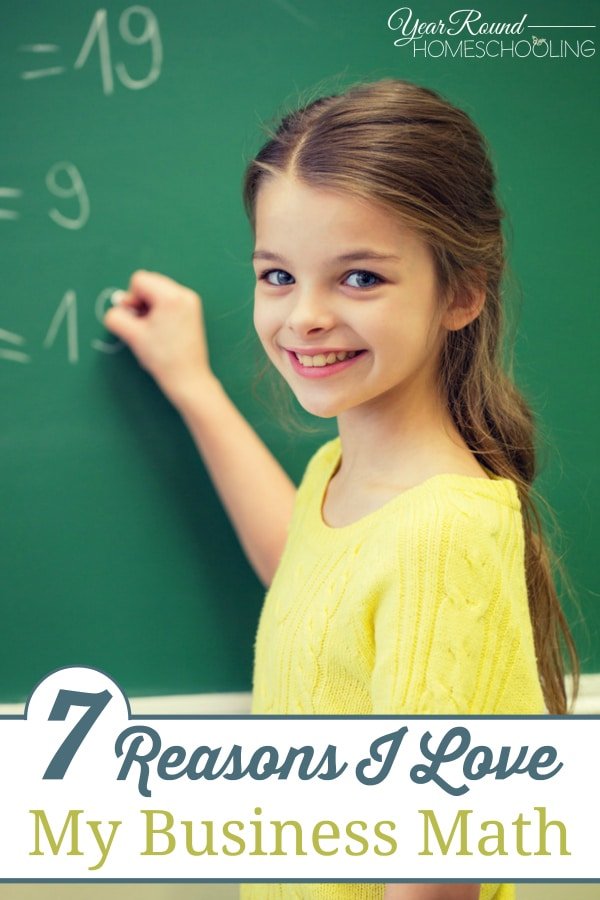 my business math, math, homeschool curriculum, homeschool, homeschooling