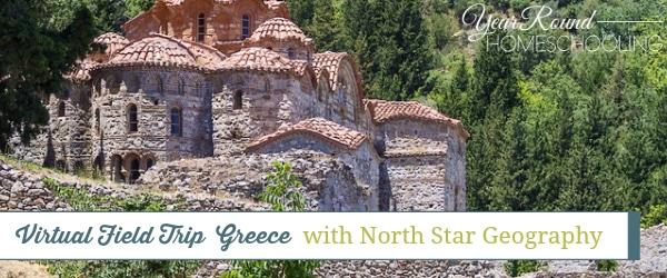 greece, virtual field trip, geography, field trip, homeschool, homeschooling