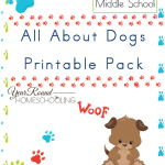 Free Dog Unit Study and Printable Pack (Middle School)