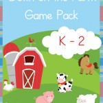 Free Down on the Farm K-2 Game Pack Pinnable