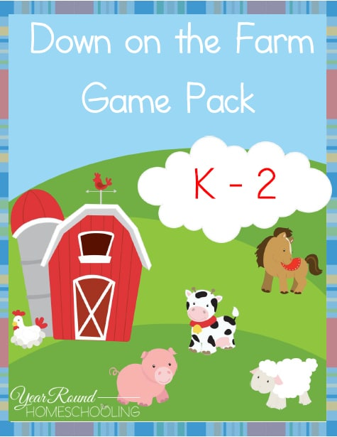 Down on the Farm Game Pack (K-2)