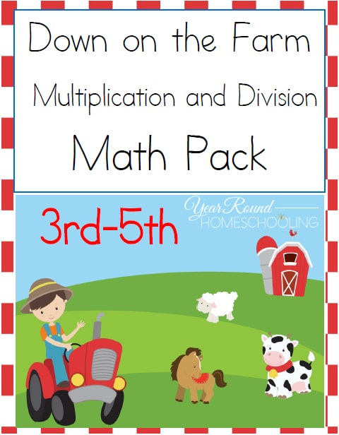 Farm Math Pack (3rd-5th)