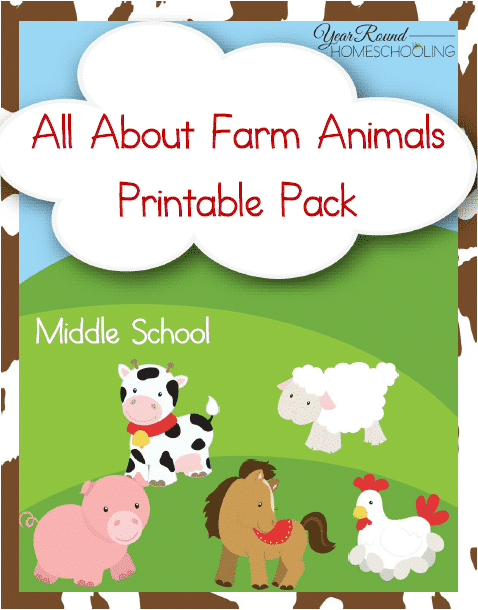 Farm Animals Unit Study (Middle School)