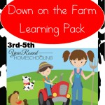 Free Down on the Farm Learning Pack (3rd-5th)