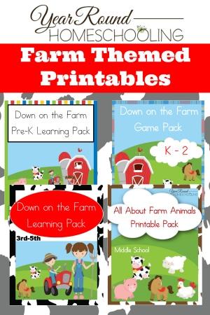 Free Farm Themed Printables