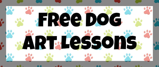 Free Dog Art Lessons