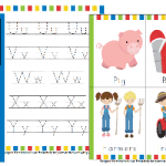 Free Down on the Farm Pre-K Learning Pack