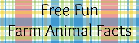 Free Fun Farm Animal Facts