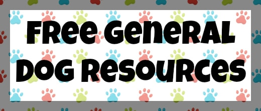 Free General Dog Resources