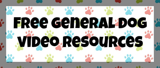 Free General Dog Video Resources