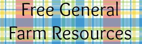 Free General Farm Resources