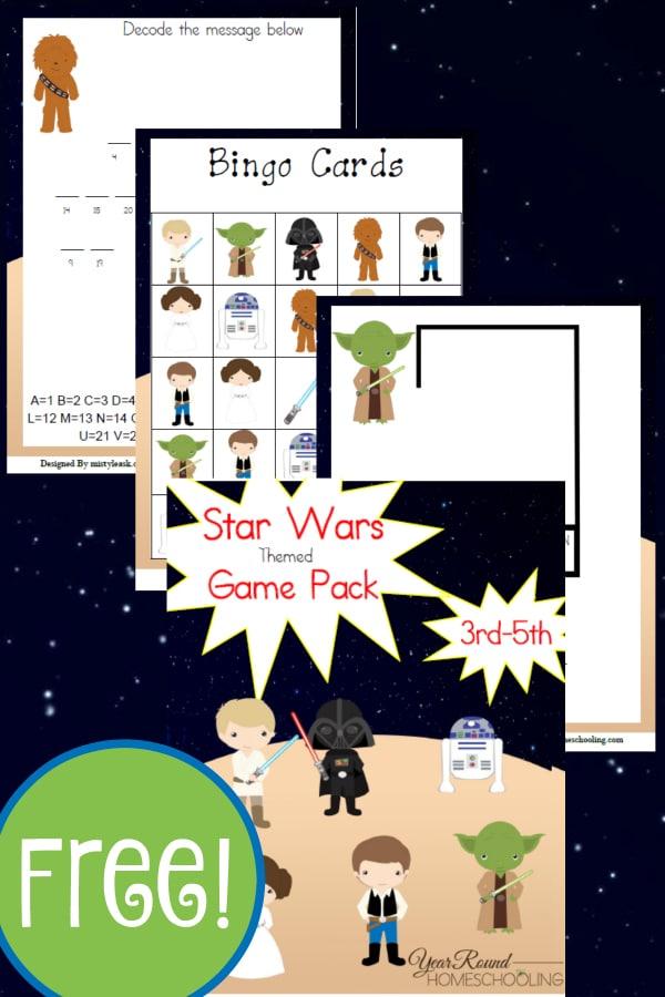 star wars, star wars elementary, 3rd-5th grade, homeschool, homeschooling, worksheets, printable