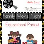 Free Family Movie Night Educational Packet