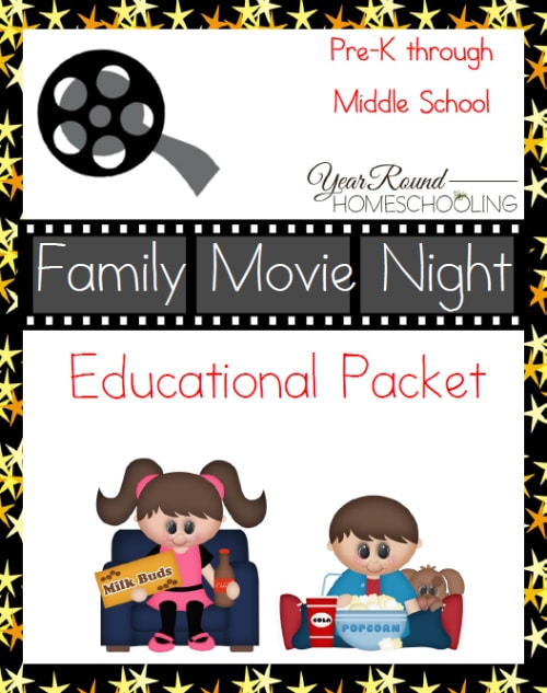 Family Movie Night Educational Packet