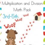 Free Puppy Love Math Pack (3rd-5th)