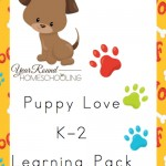 Free Puppy Love K-2 Learning Pack
