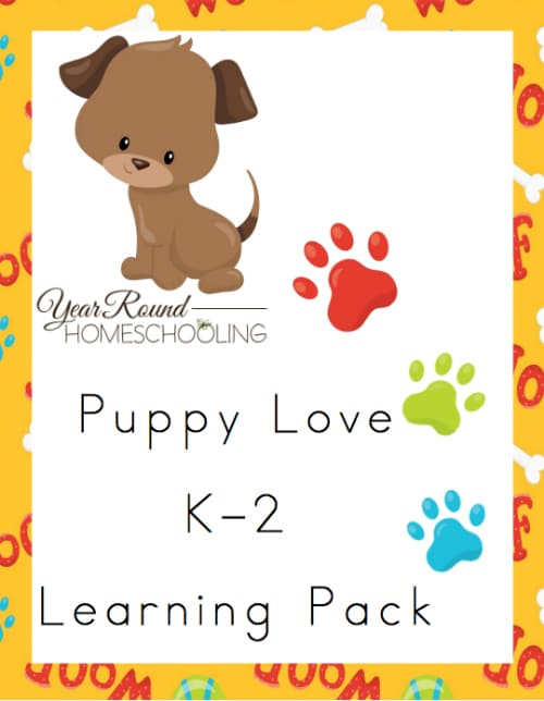 Puppy Love K-2 Learning Pack