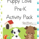 Free Puppy Love Pre-K Activity Pack