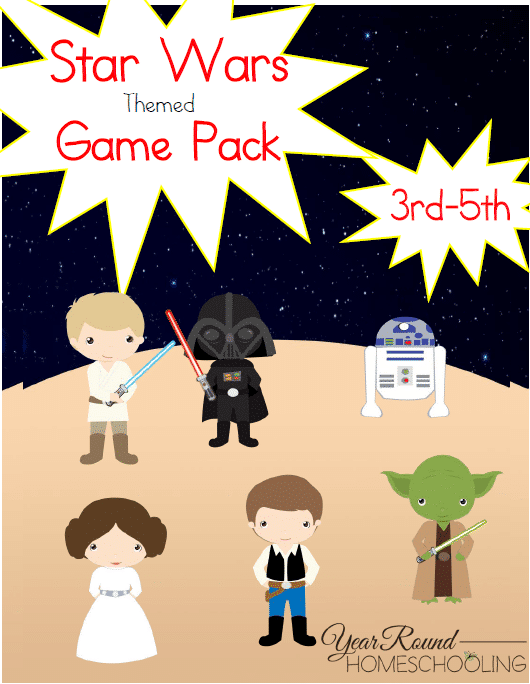 Star Wars Themed Game Pack (3rd-5th)